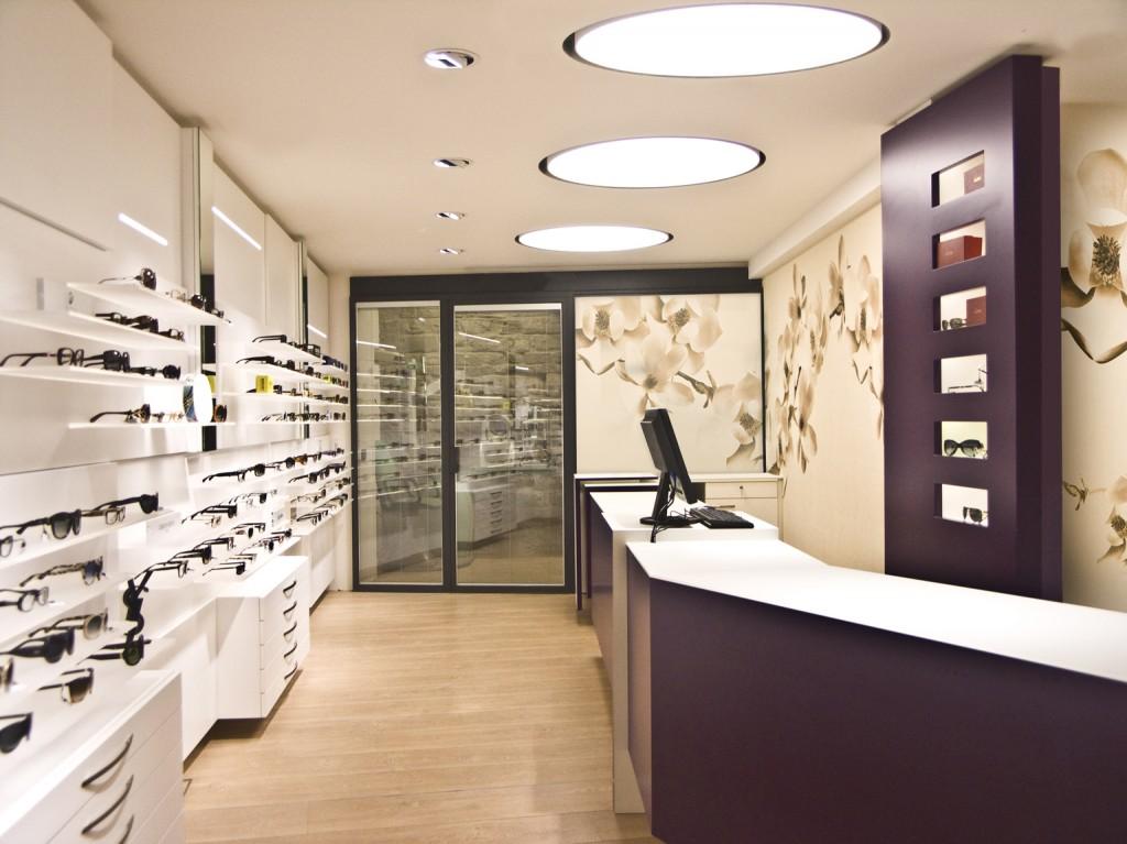 Arredamento negozio ottica edi sas for Negozi arredamento cantu